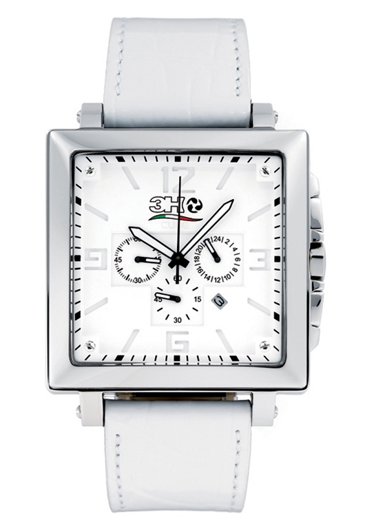 3H Italia Unisex CC10 Cube Chronograph